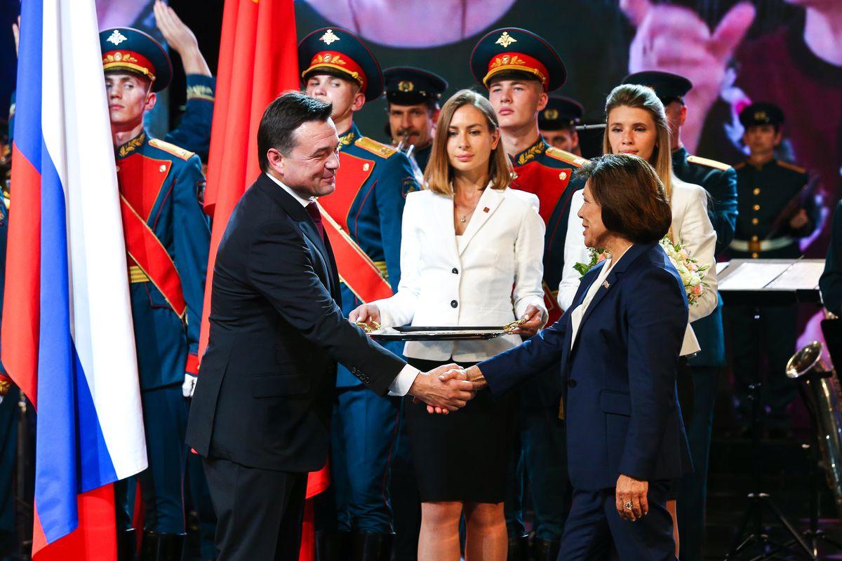 Андрей Воробьев губернатор московской области - Территория, объединяющая всех: Подмосковью исполнилось 90 лет