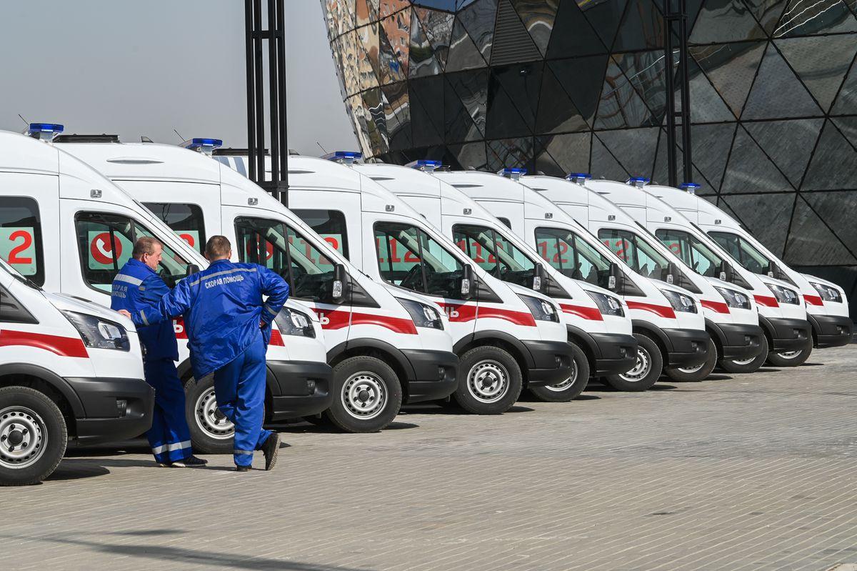 Андрей Воробьев губернатор московской области - Успевать везде: новые автомобили для подмосковной скорой помощи