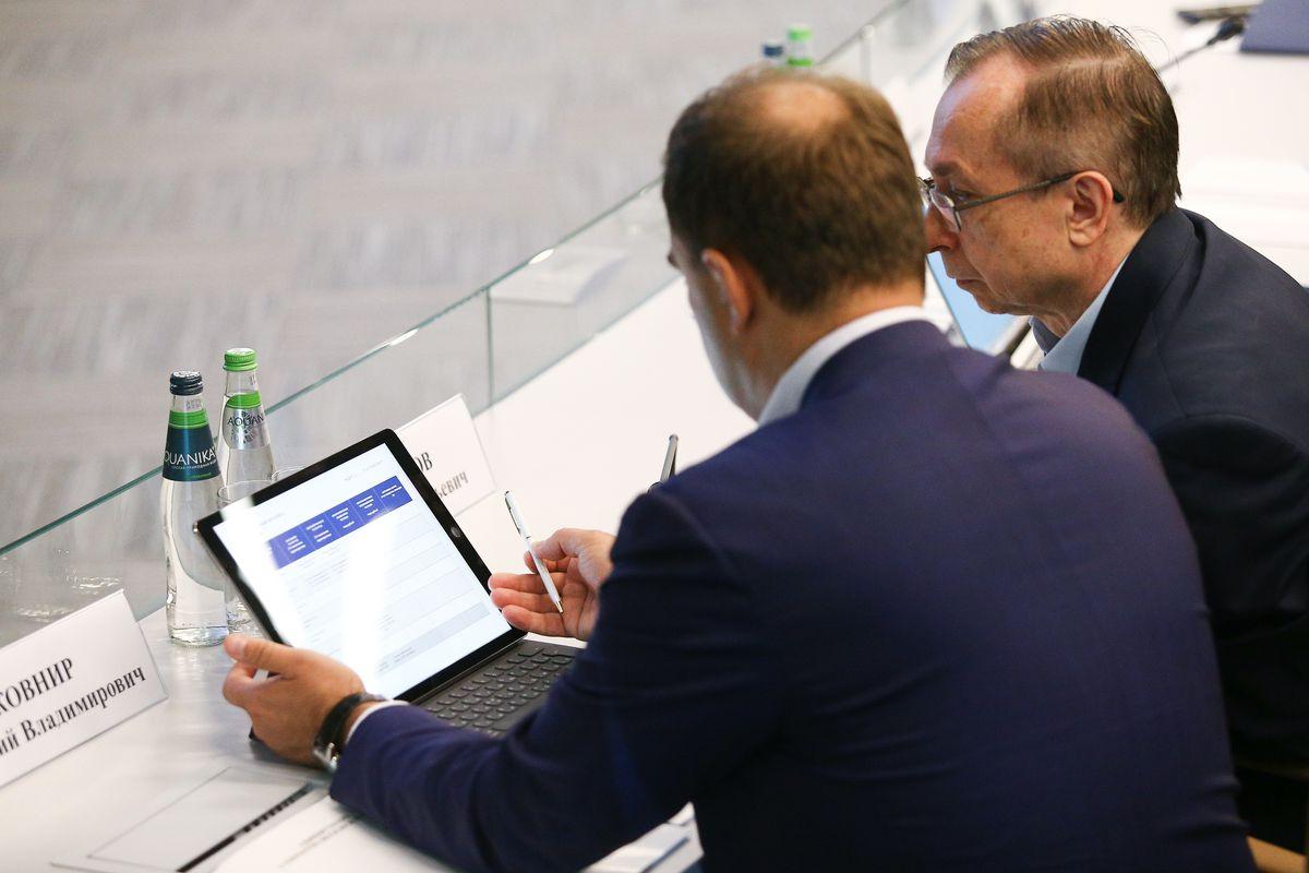 Андрей Воробьев губернатор московской области - Заседание рабочей группы по подготовке к Госсовету по направлению «Коммуникации, связь, цифровая экономика»