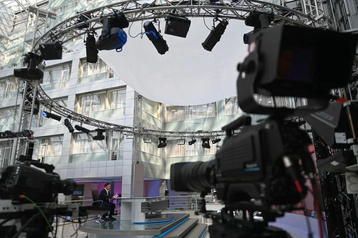 Андрей Воробьев губернатор московской области - Итоги июля в эфире телеканала «360»