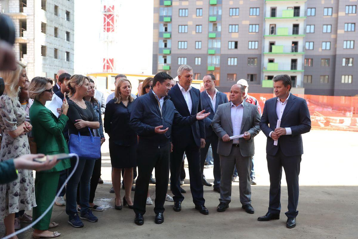 Андрей Воробьев губернатор московской области - Школа на 1350 мест появится в Одинцове к концу 2019 года