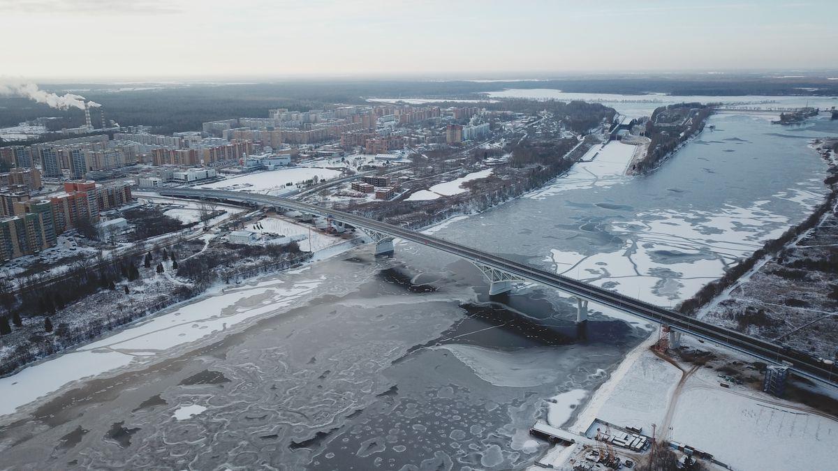 Андрей Воробьев губернатор московской области - Открытие моста в Дубне