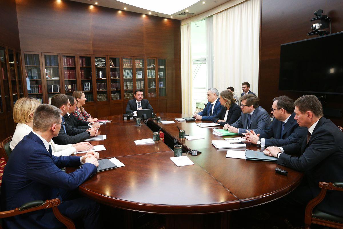 Андрей Воробьев губернатор московской области - Встреча с зампредами: благоустройство и ключи для дольщиков