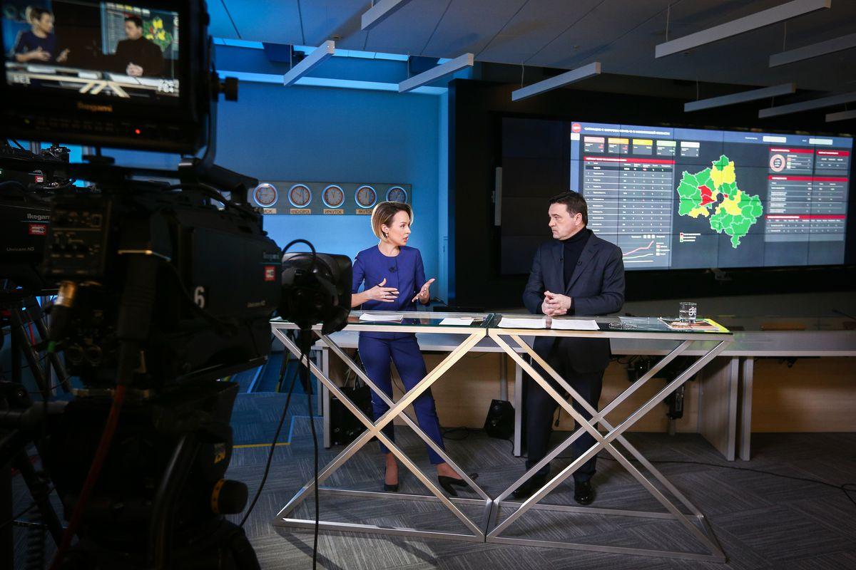 Андрей Воробьев губернатор московской области - Специальный эфир на телеканале «360»