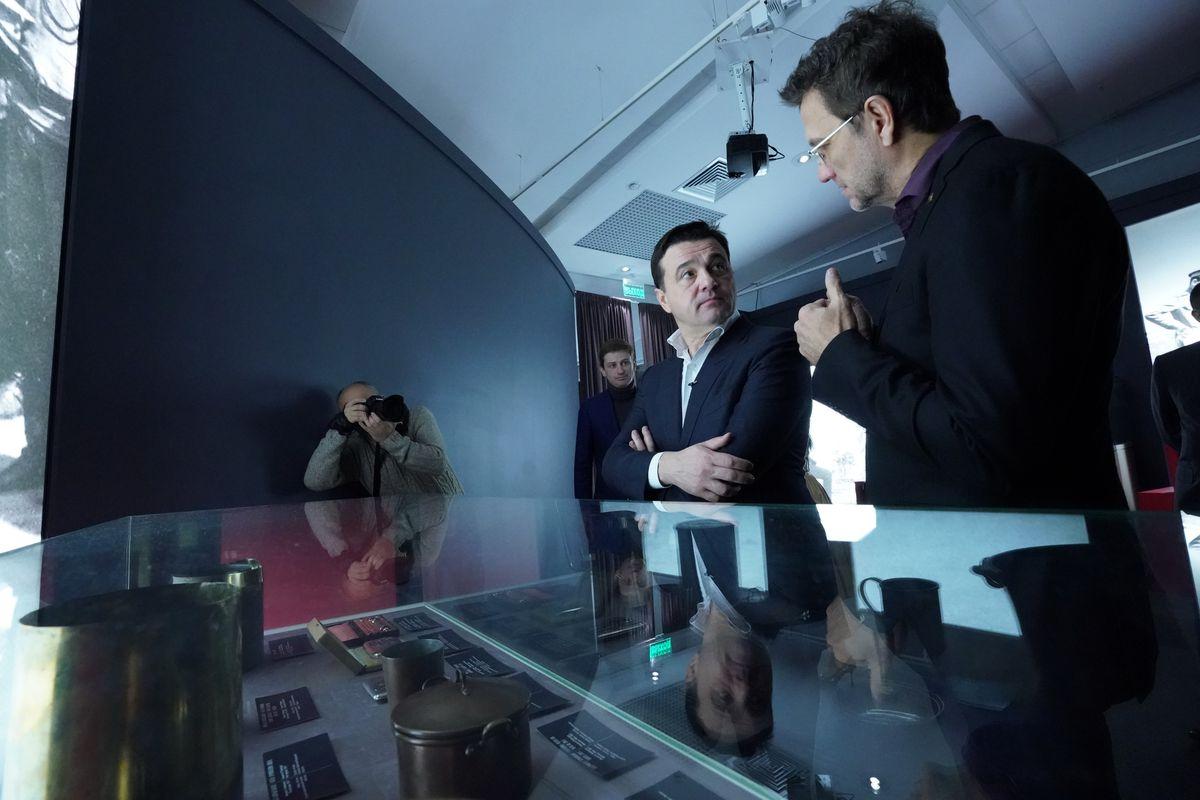 Андрей Воробьев губернатор московской области - Выставка «Стиль Фаберже» в музее «Новый Иерусалим»