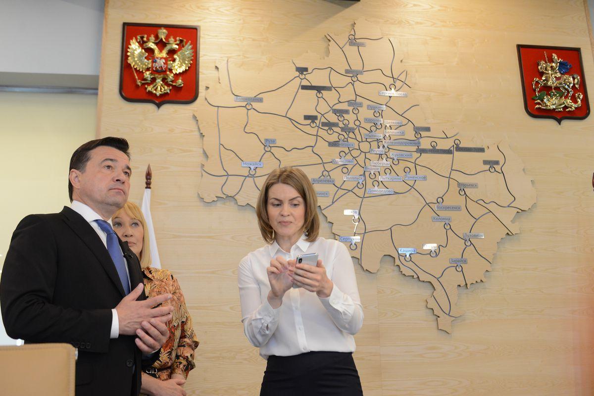 Андрей Воробьев губернатор московской области - Андрей Воробьев проверил работу социального мобильного приложения