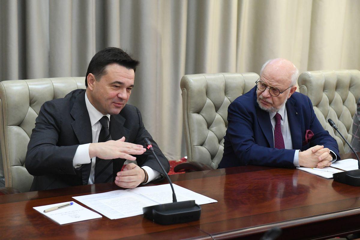 Андрей Воробьев губернатор московской области - Итоги работы Совета по правам человека по Московской области