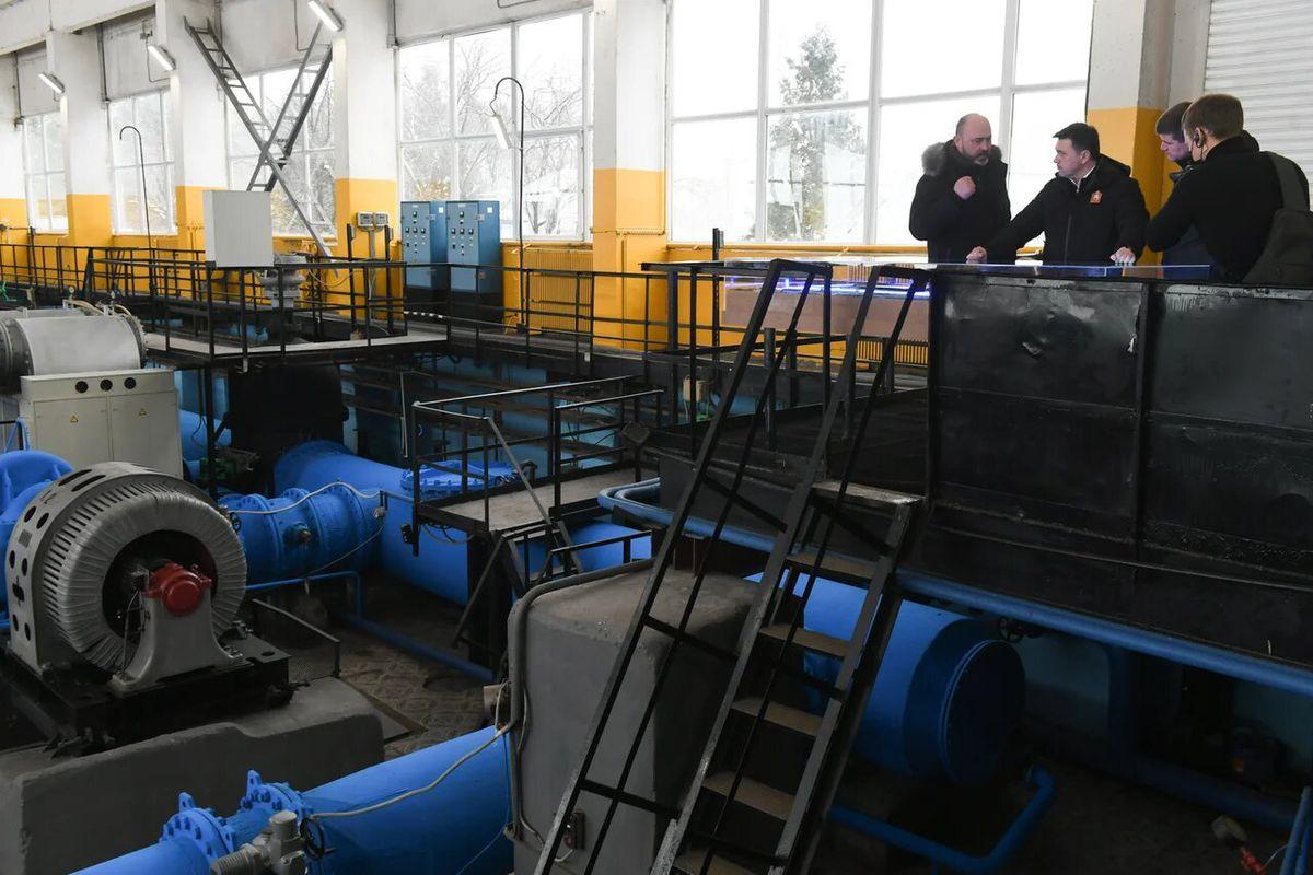 Андрей Воробьев губернатор московской области - Родниковая вода для жителей. В Орехово-Зуеве модернизируют систему водоснабжения