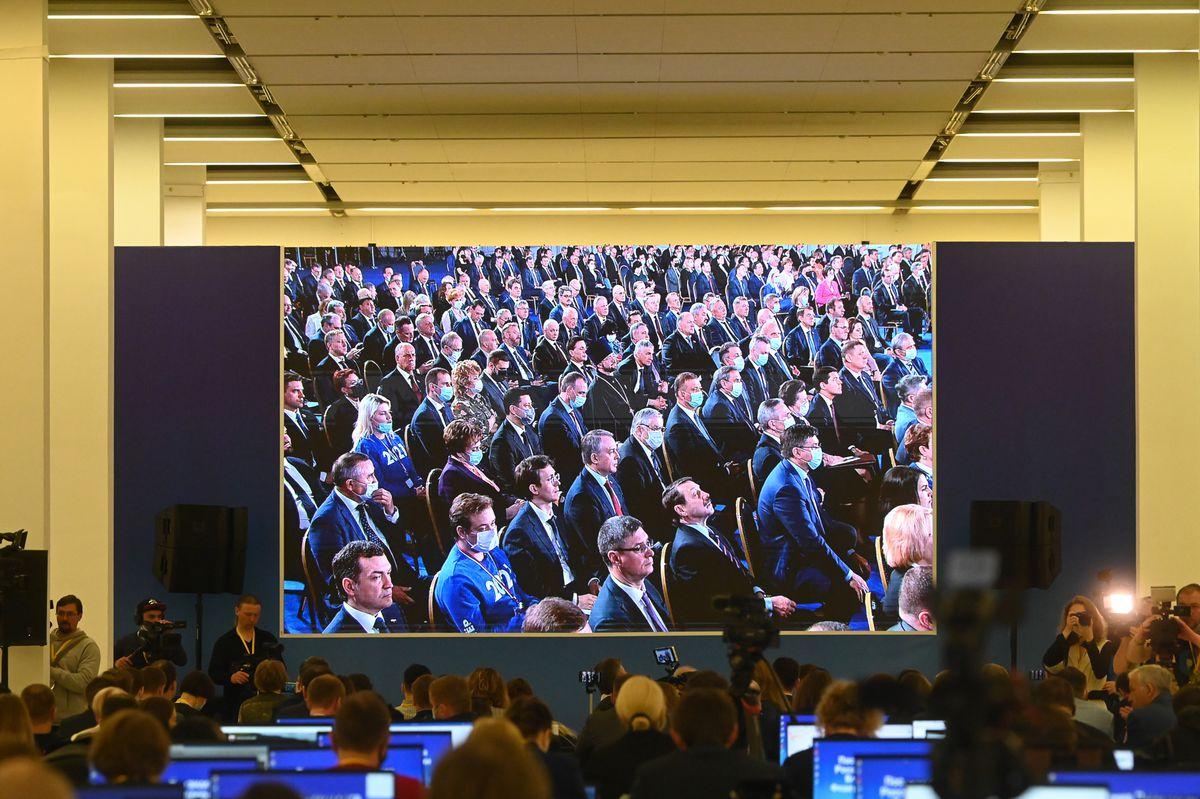 Андрей Воробьев губернатор московской области - Поддержка семей, борьба с пандемией, возможности и вызовы: Путин в послании к Федеральному собранию