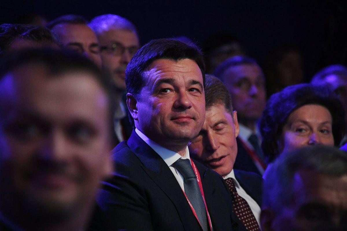 Андрей Воробьев губернатор московской области - Московская область поднялась в рейтинге инвестиционной привлекательности