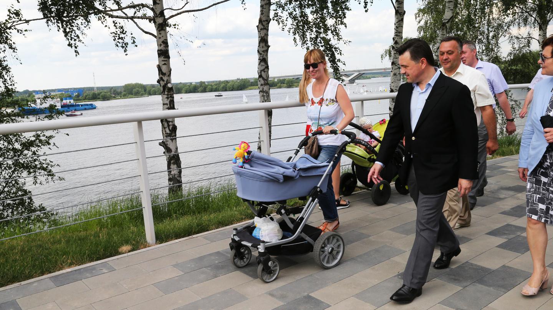 Андрей Воробьев губернатор московской области - Комфортная городская среда — меняем дворы и парки Подмосковья вместе