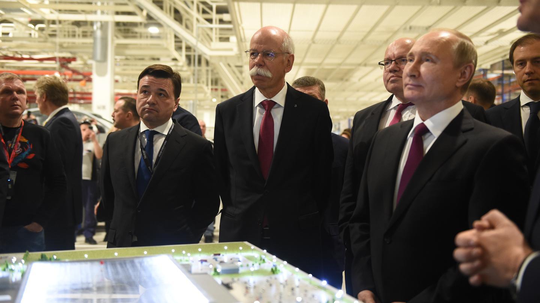 Единственный в стране: первый в России завод Mercedes-Benz открылся в Подмосковье