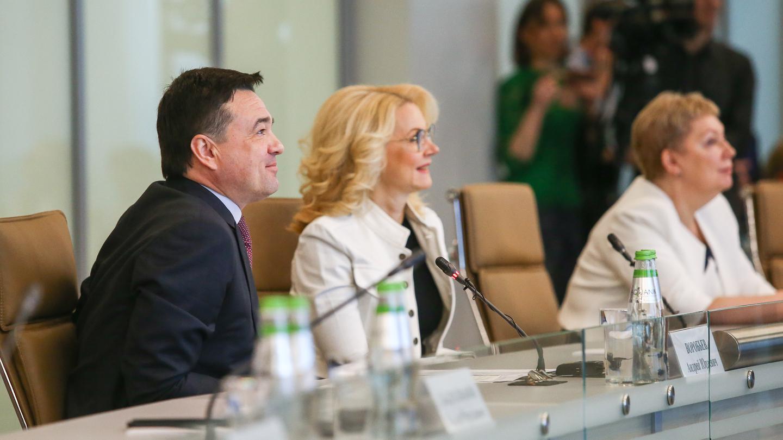 Президентский проект «Современная школа»: 50 новых учреждений единовременно заложили в Подмосковье