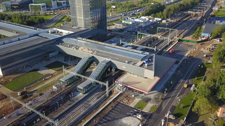 Транспортная сеть будущего: новую железнодорожную платформу открыли в Подмосковье