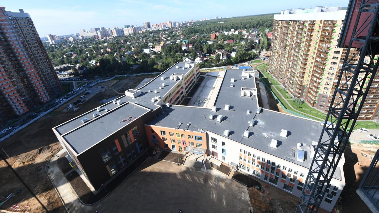 Андрей Воробьев губернатор московской области - Без второй смены: сколько еще школ построят в Одинцове?