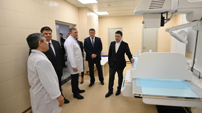 Андрей Воробьев губернатор московской области - Пять новых поликлиник — план на 2019-й год