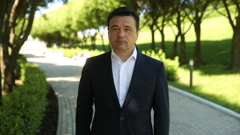 Андрей Воробьев губернатор московской области - Коронавирус уходит, впереди — голосование по поправкам в Конституцию