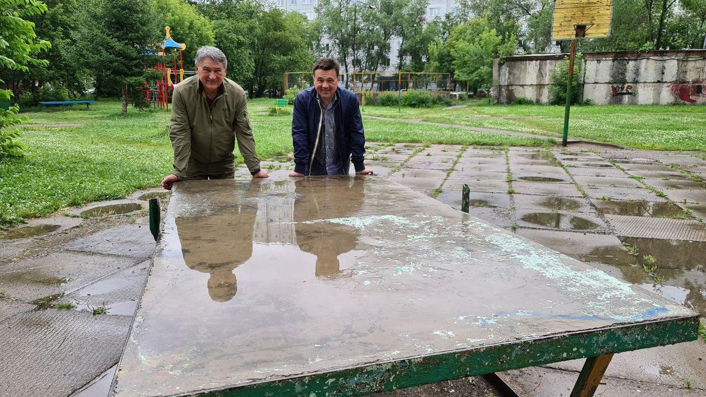 Андрей Воробьев губернатор московской области - Поездка на малую Родину. Мои школьные годы