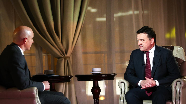 Андрей Воробьев губернатор московской области - ИТОГИ 2020: большое интервью Станиславу Натанзону