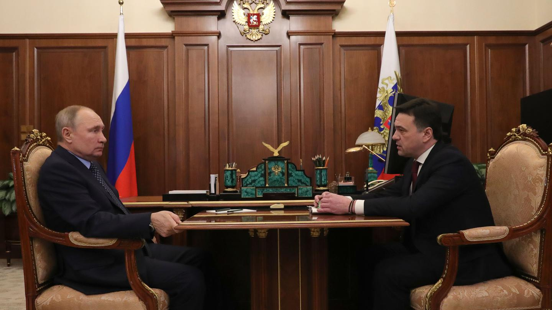 Андрей Воробьев губернатор московской области - Замкнуть кольцо и победить ковид: что обсудили на встрече с Президентом