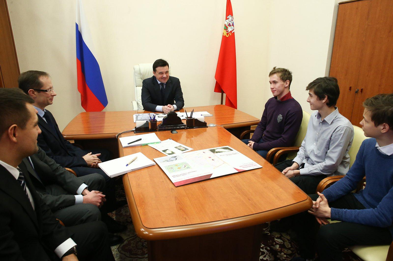 Андрей Воробьев губернатор московской области - Личный прием. Итоги встречи с жителями Подмосковья