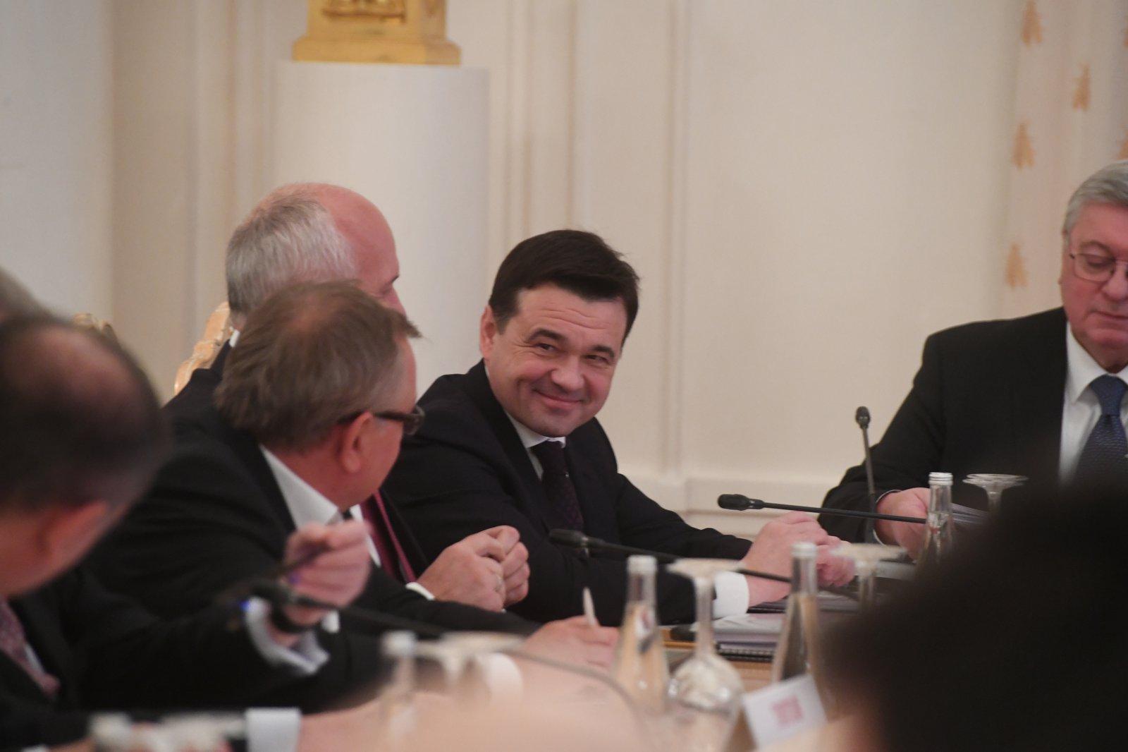 Андрей Воробьев губернатор московской области - Подмосковный лицей МГИМО. Интеграция как важный фактор развития образования