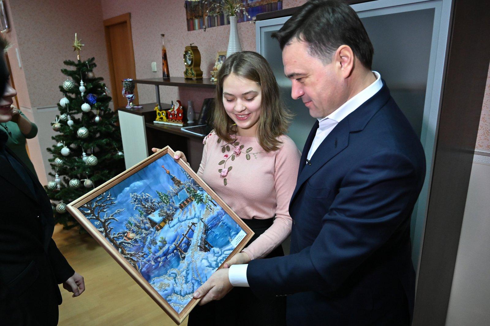 Андрей Воробьев губернатор московской области - Дом детства