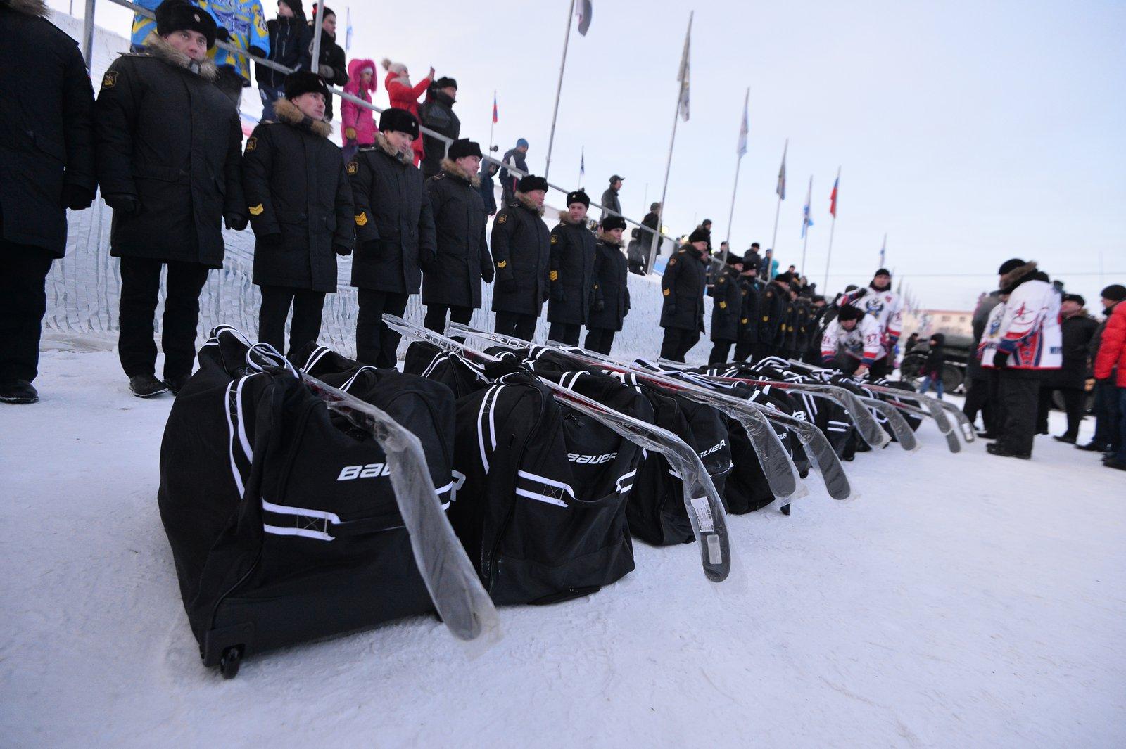 Андрей Воробьев губернатор московской области - Скрестили клюшки: «Легенды хоккея» VS Северный флот