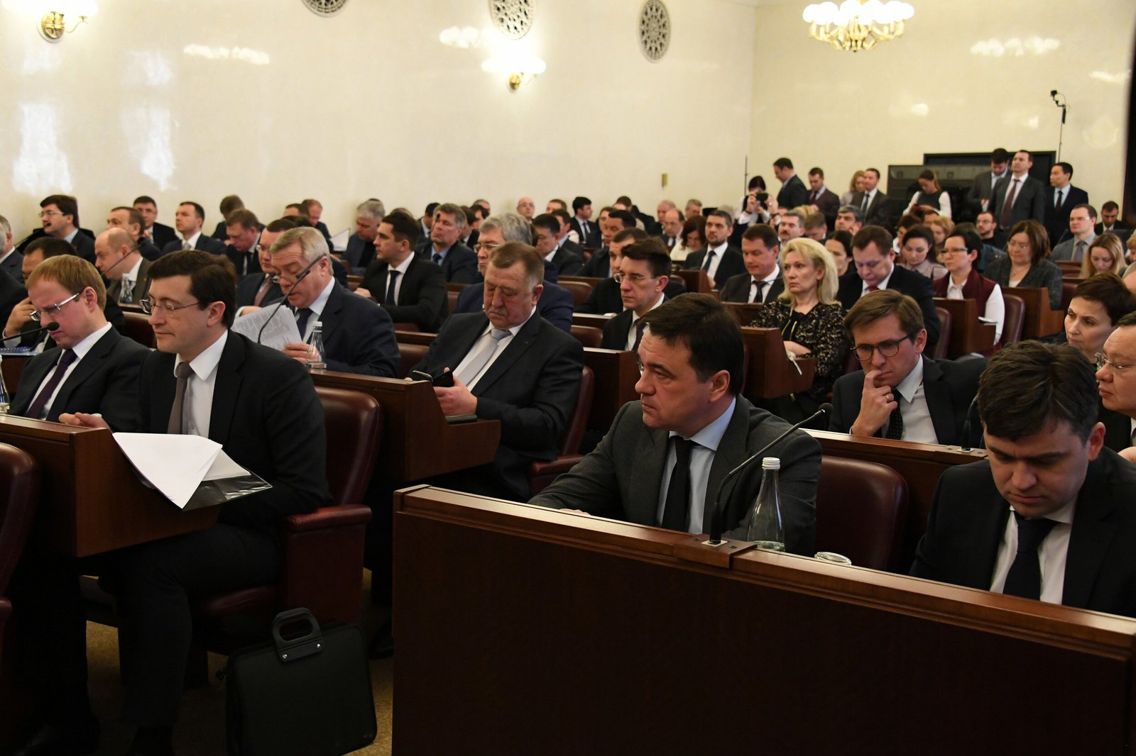 Андрей Воробьев губернатор московской области - Будущее Подмосковья — в комфорте его жителей