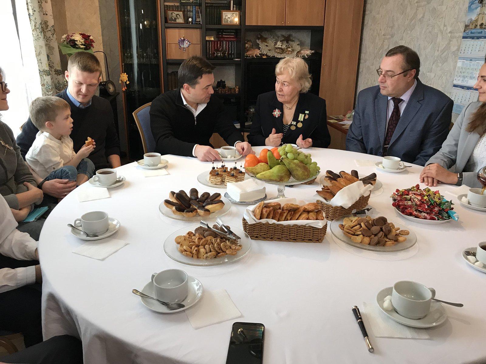 Андрей Воробьев губернатор московской области - Пенсионеры Подмосковья — люди, без которых не было бы настоящего