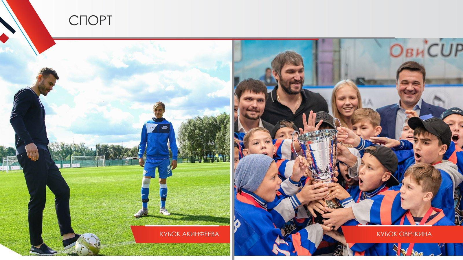 Андрей Воробьев губернатор московской области - Спорт и здоровый образ жизни в Подмосковье