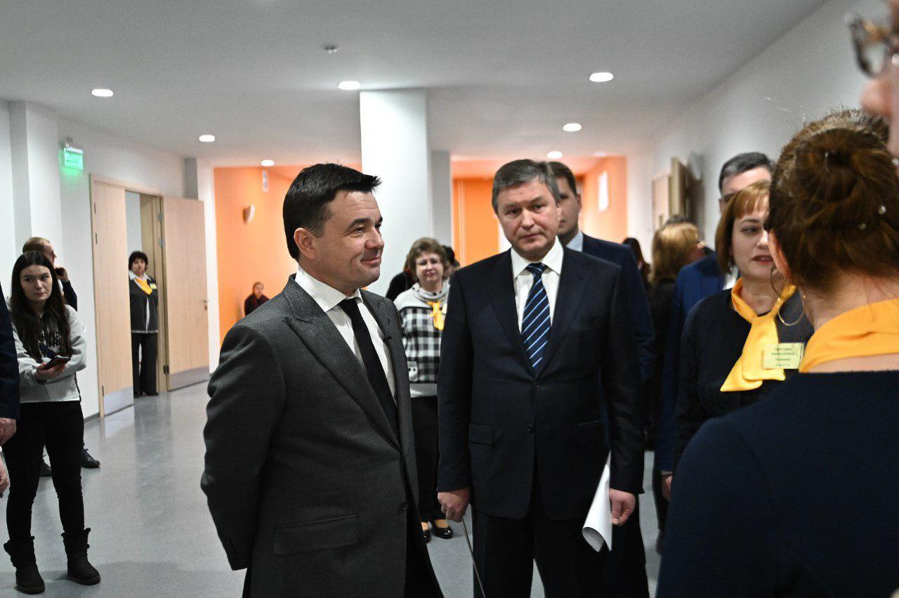 Андрей Воробьев губернатор московской области - Кадры определяют будущее: развитие образования в Подмосковье