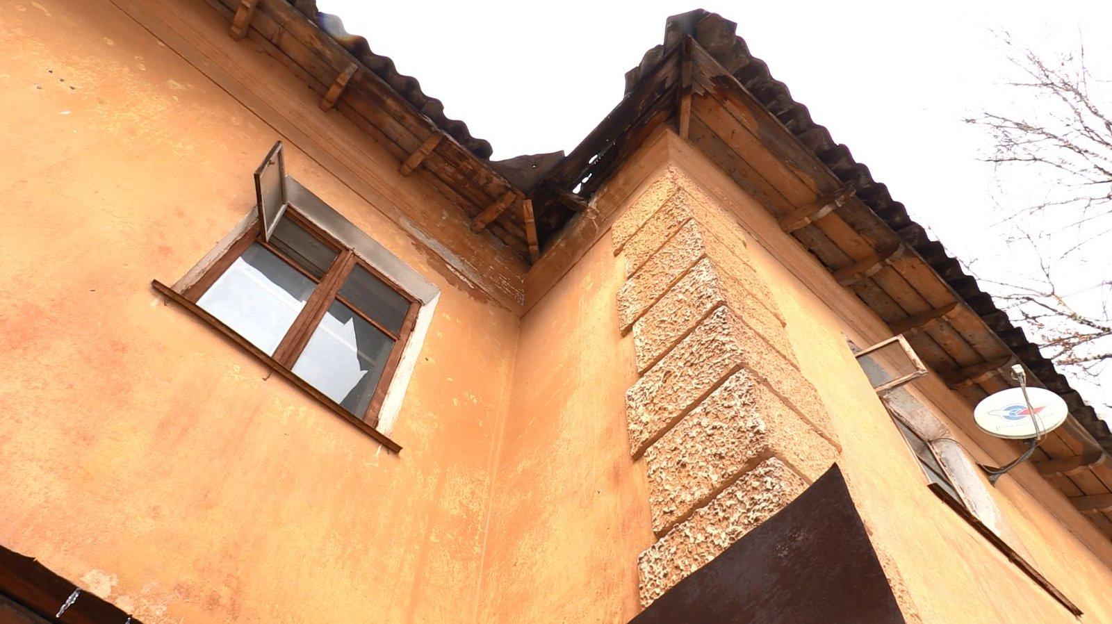 Подлежащий сносу дом на улице Пионерская 13 в Щелкове