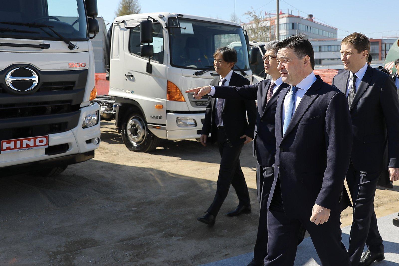 Андрей Воробьев губернатор московской области - Hino Motors в Химках: в Подмосковье появится еще один автомобильный завод