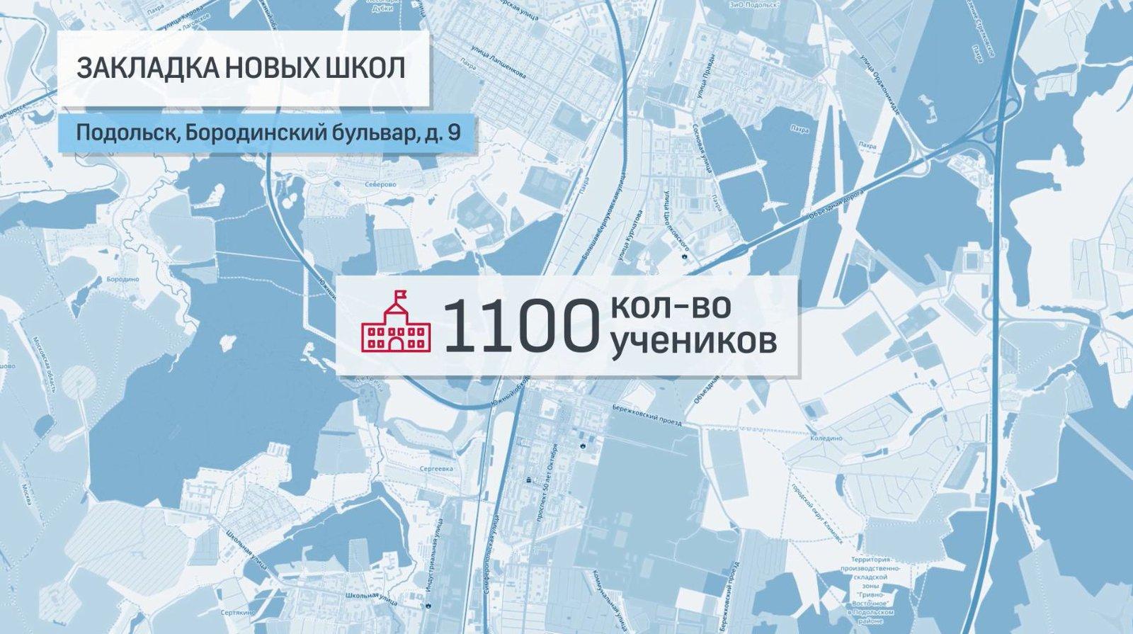 Школа в Подольске