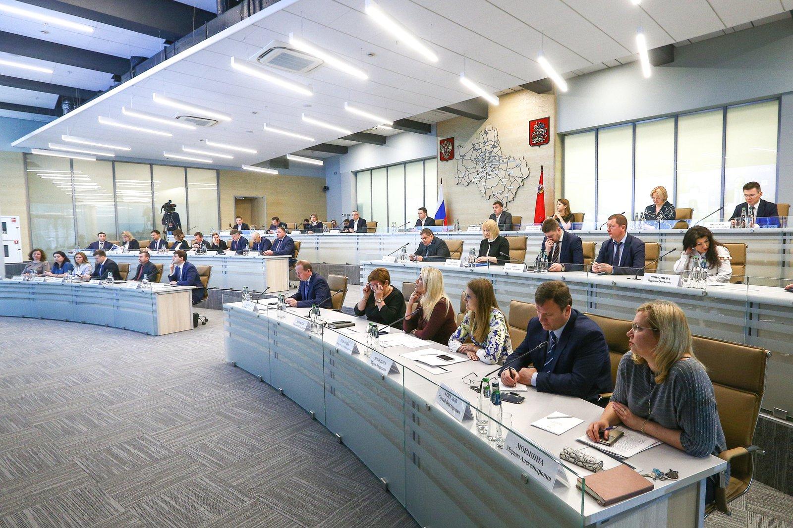 Андрей Воробьев губернатор московской области - Глобальная тепловая карта: Рейтинг-50 стал главной темой совещания в ЦУРе