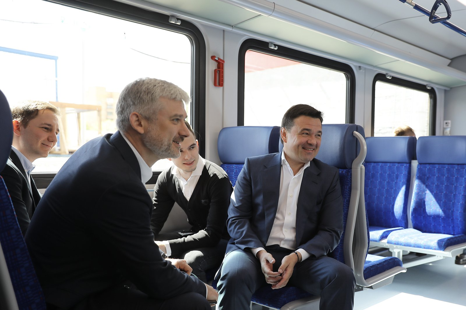 Андрей Воробьев губернатор московской области - Транспортная сеть будущего: новую железнодорожную платформу открыли в Подмосковье