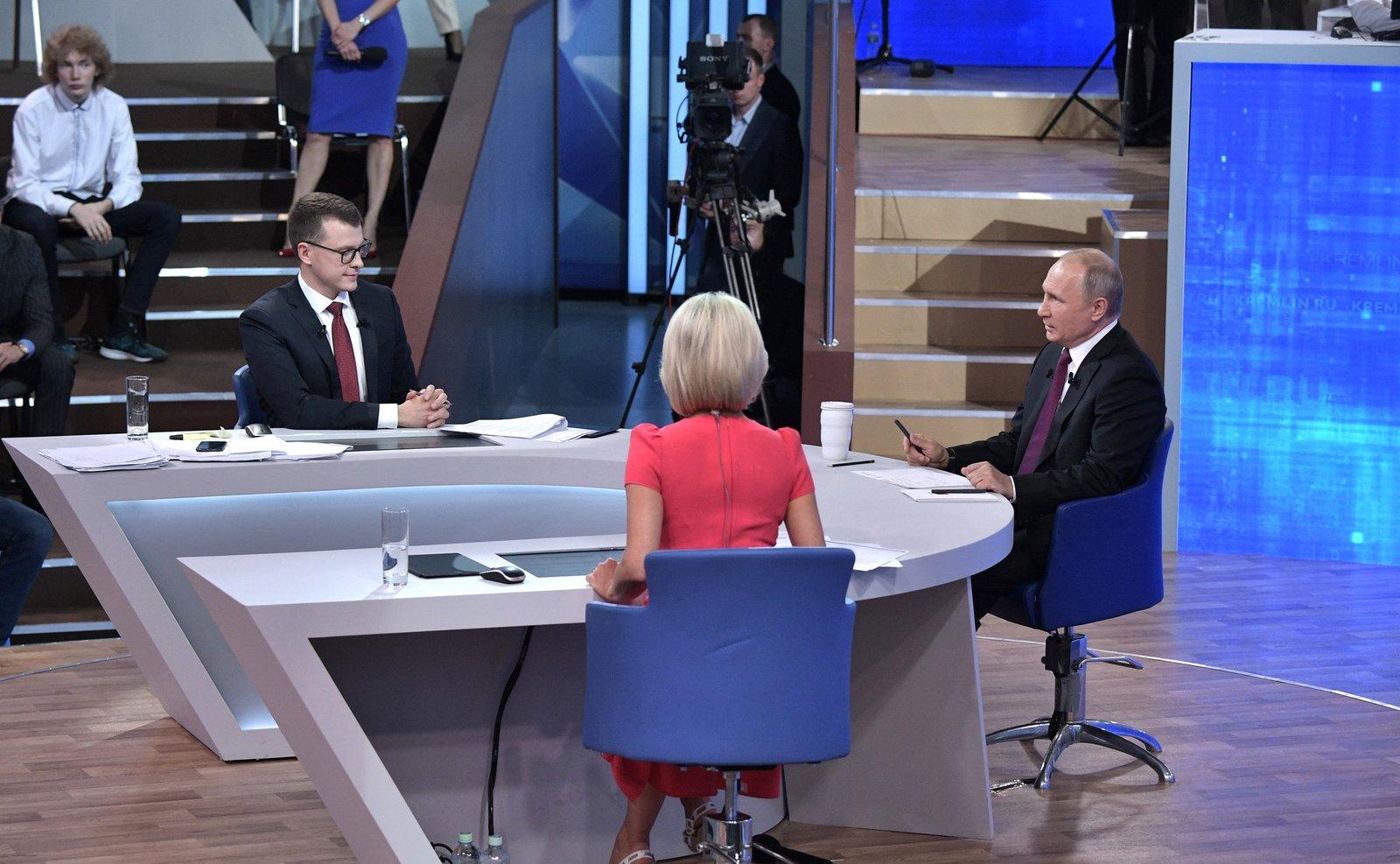 Андрей Воробьев губернатор московской области - Экология, дороги и зарплаты: как прошла «Прямая линия» с Президентом
