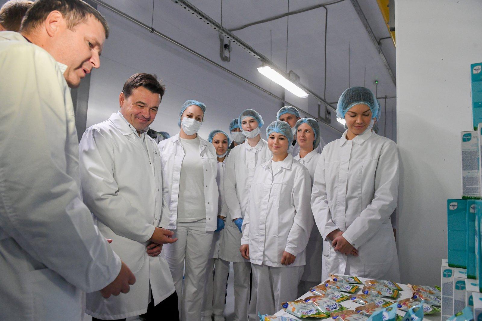 Андрей Воробьев губернатор московской области - Бизнес для людей: в индустриальном парке «Богородский» запустили новое производство