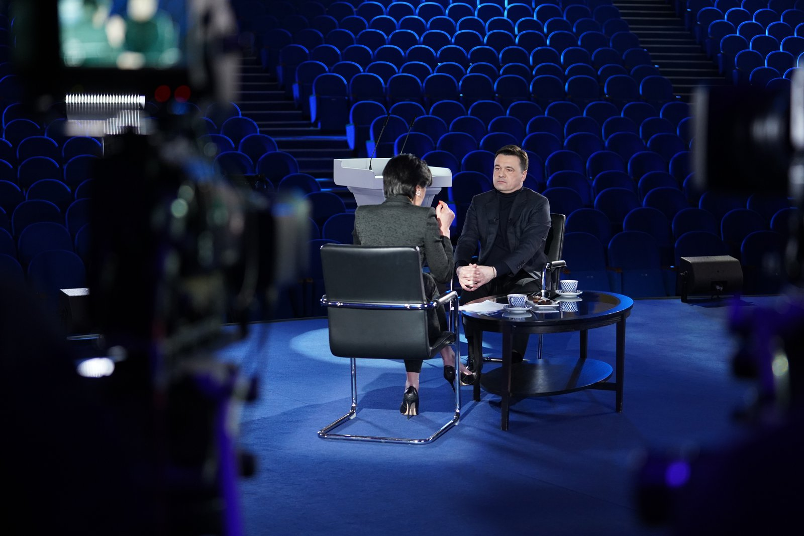 Андрей Воробьев губернатор московской области - Прямой разговор с Ирадой Зейналовой