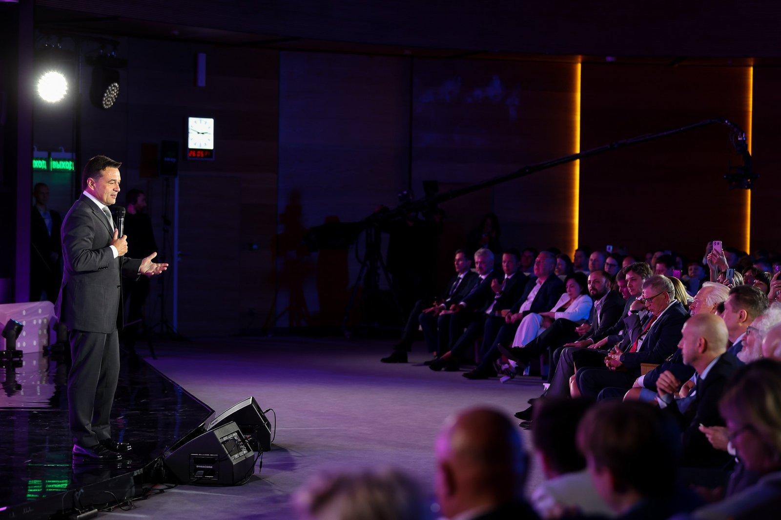 Андрей Воробьев губернатор московской области - «Медиана» для всех форм журналистики: в Подмосковье наградили блогеров и представителей СМИ