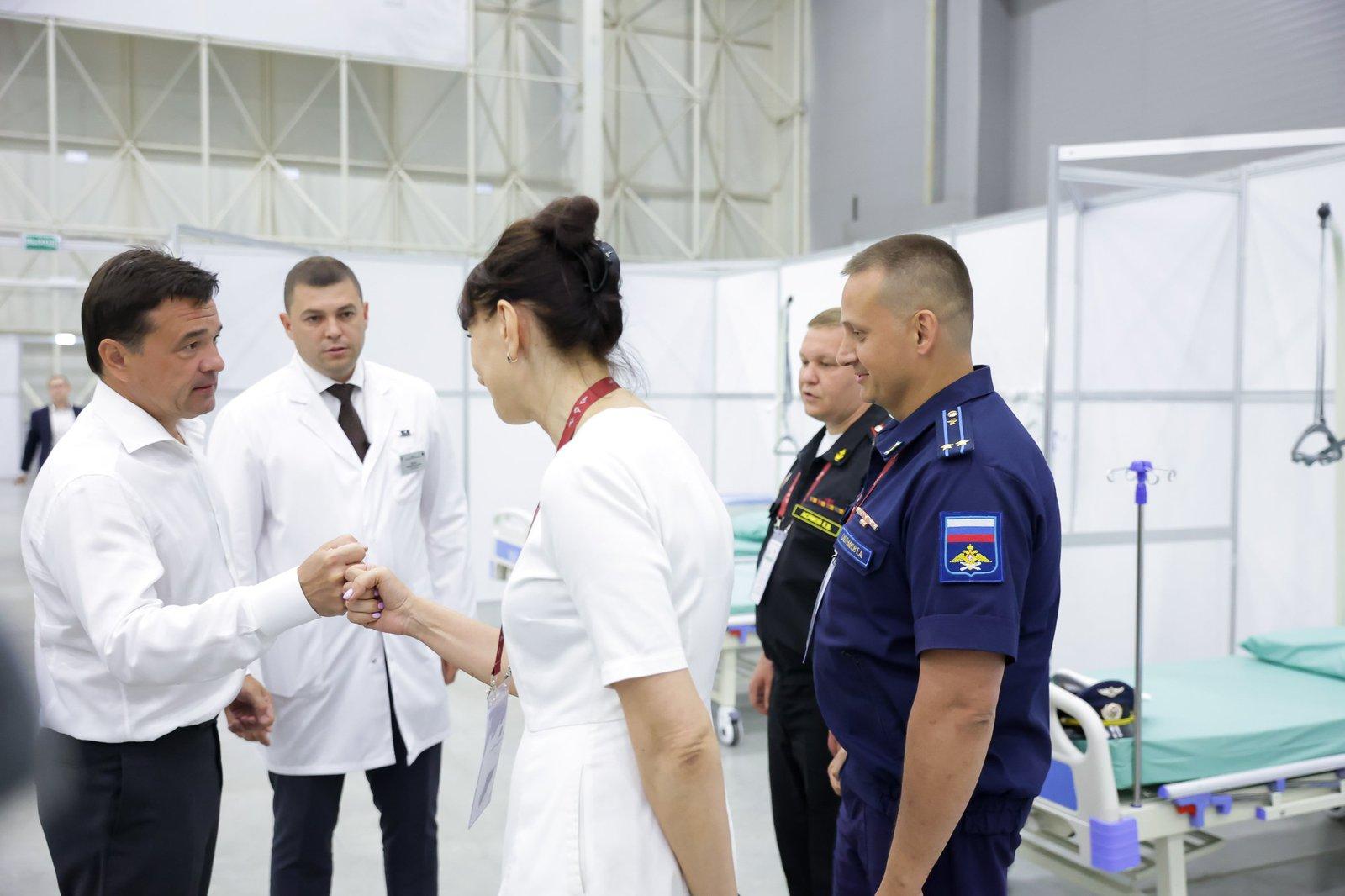Андрей Воробьев губернатор московской области - Еще раз о вакцинации. Ковид в Подмосковье и новые ограничения