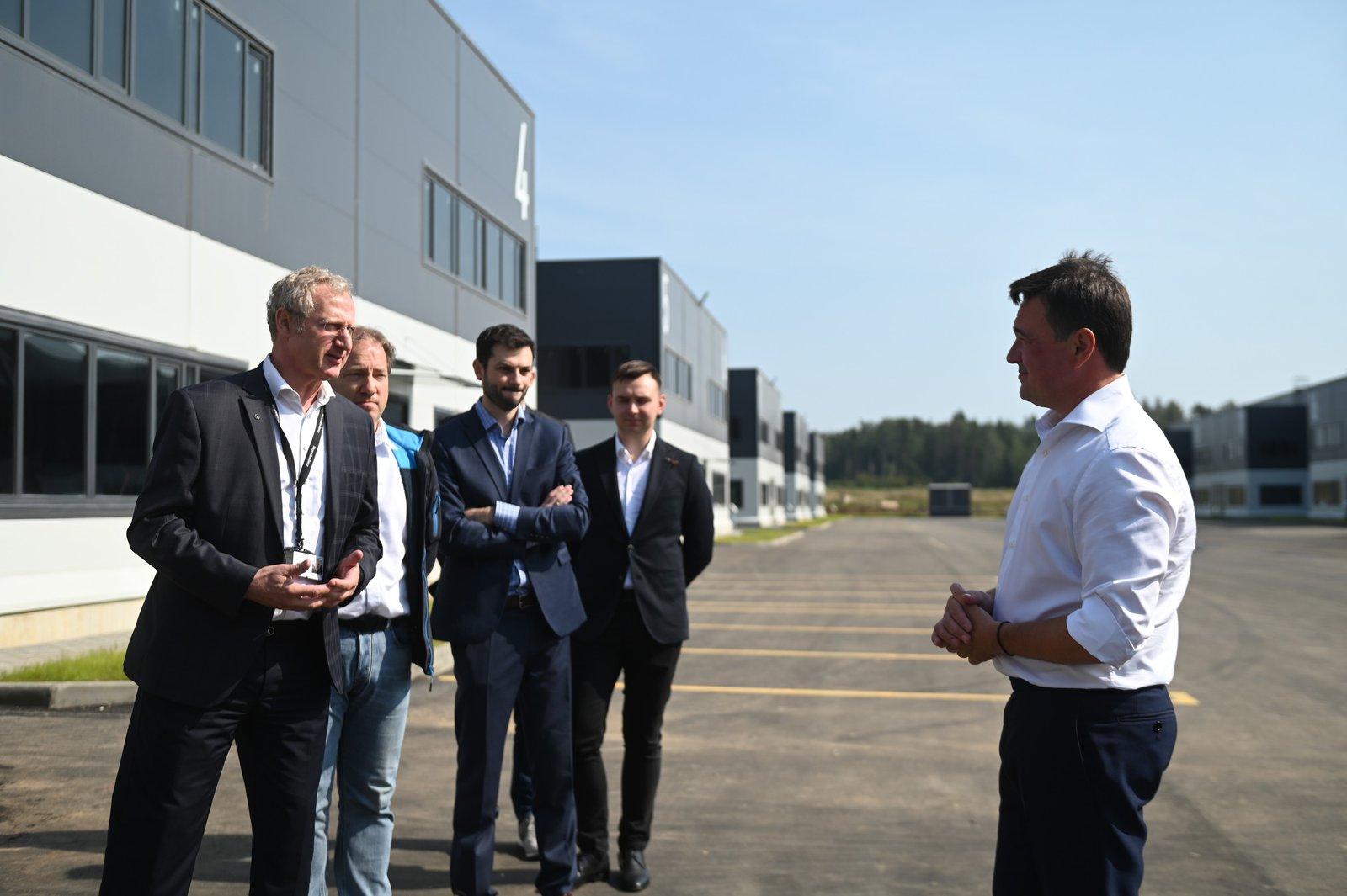 Андрей Воробьев губернатор московской области - Промышленный коворкинг и новая развязка. Зачем они Солнечногорску?