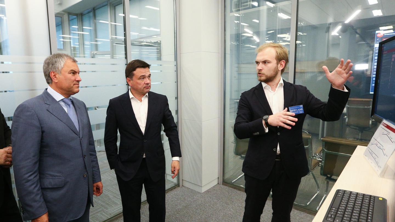 Вячеслав Володин ознакомился с работой подмосковного ЦУРа