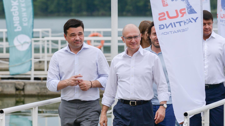 Сергей Кириенко посетил новую подмосковную образовательную площадку