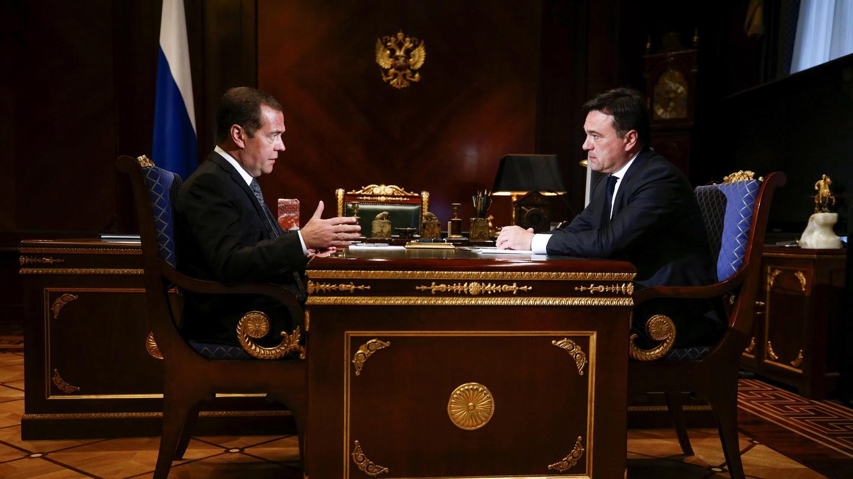 Андрей Воробьев губернатор московской области - Дмитрий Медведев и Андрей Воробьев обсудили перспективы развития образования в области