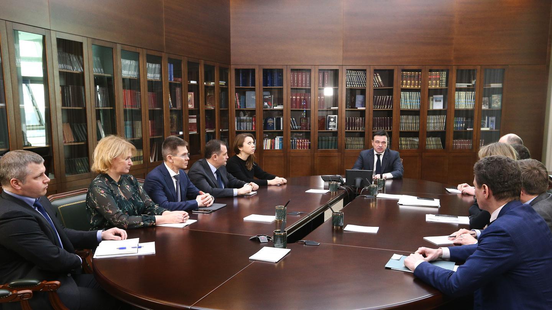 Андрей Воробьев губернатор московской области - Без поводов для паники: в Подмосковье практически отсутствует динамика по заболеванию коронавирусом