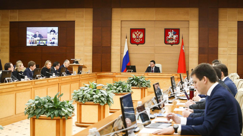 Андрей Воробьев губернатор московской области - Коронавирус и не только. Что обсудили на заседании правительства
