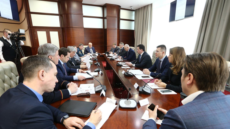 Андрей Воробьев губернатор московской области - Оперативное совещание по вопросам коронавируса