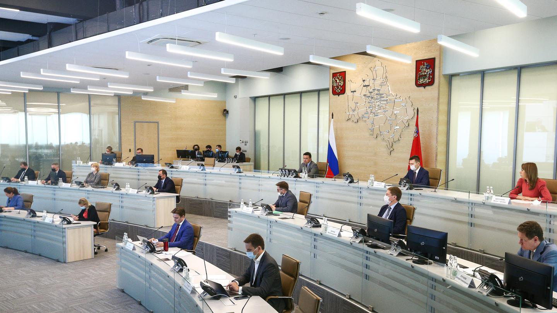 Андрей Воробьев губернатор московской области - Курс на восстановление. Итоги совещания с зампредами